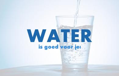 Water is goed voor je