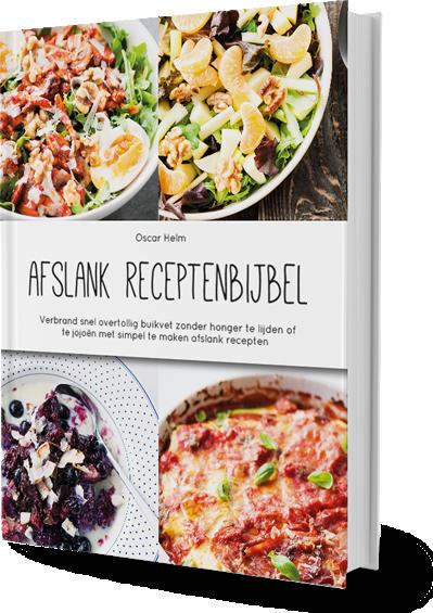 Afslank receptenboek - afvallenmettips.nl